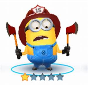 Despicable Me: Minion Rush - Firefighter Costume | Gameteep