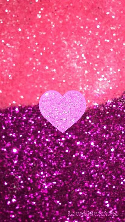 Glitter Iphone Pink Wallpapers Sparkle Phone Background