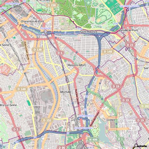 plan maisons alfort carte ville maisons alfort