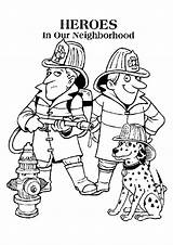 Fire Coloring Safety Getdrawings sketch template