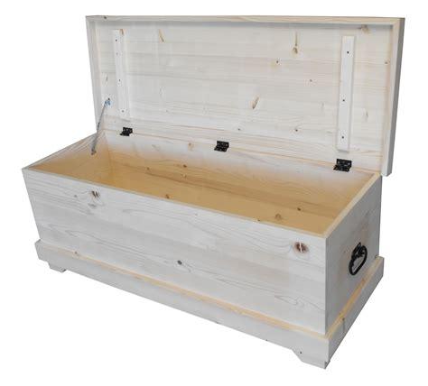 meuble de rangement jouets chambre coffre à jouets en pin massif 120cm de large