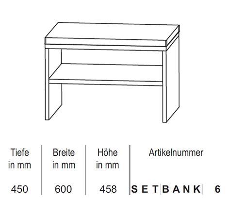 Sitzbank 60 Cm by Puris Sitzbank 60 Cm Impulsbad