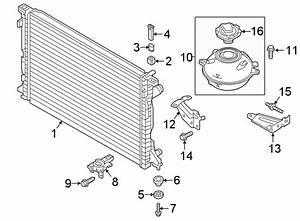 2018 Audi Q5 Radiator  Cooling  Liter  System - 80a121251d