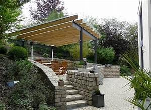 Garten überdachung Freistehend : terrassen berdachung an einem einfamilienhaus annen feld ~ Whattoseeinmadrid.com Haus und Dekorationen