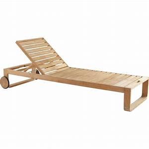 Transat En Bois : bain de soleil de jardin en bois resort naturel leroy merlin ~ Teatrodelosmanantiales.com Idées de Décoration