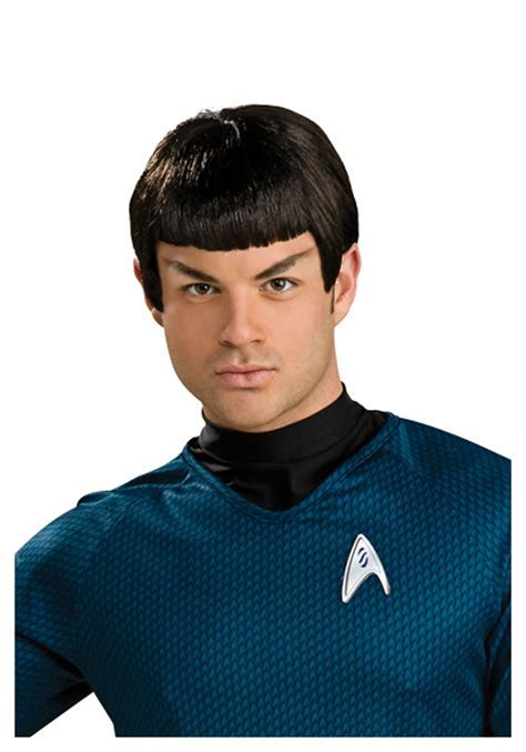 Star Trek Spock Wig with Ears   Star Trek Halloween