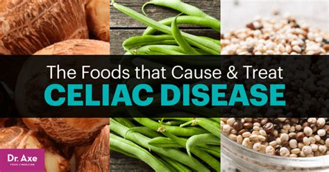 celiac disease diet foods tips products  avoid dr axe