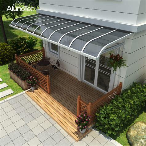 customized polycarbonate sheet aluminum window awnings