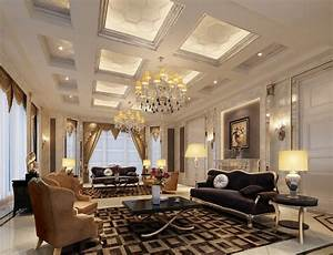 23 fabulous luxurious living room design ideas interior for Living room ideas and designs