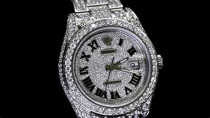 Rolex Iced Diamond Gold Wallpapers Datejust Roman