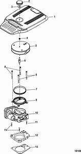 Throttle Body  Digital Throttle And Shift For Mercruiser 5 0  350  377 Mag Mpi Sterndrive Ec