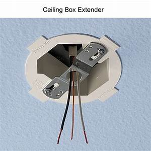 Box extension on fan