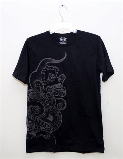 jual tshirt kaos batik semar limited edition ilustrasi batik wayang kontemporer di lapak
