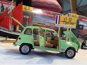 Heller 1:24 Renault 4L Site de ipmsbretagne