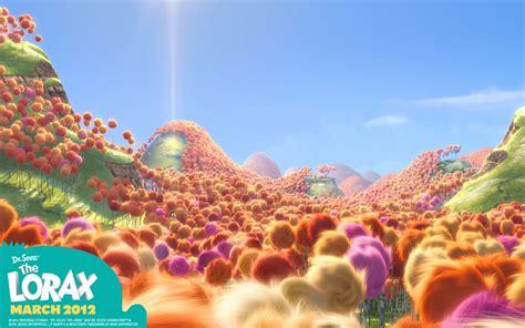 Truffula Trees From Dr. Seuss The Lorax Movie Desktop