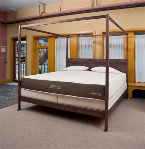 wood bed frames natural wood bed frame  organic