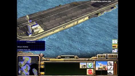 conquer command generals zero hour carrier aircraft destroying