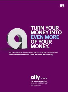 Ally Bank Launches  Stages Ad Campaign