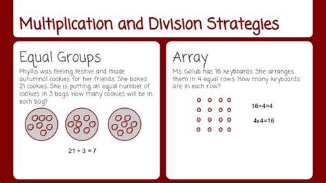 grade math strategies