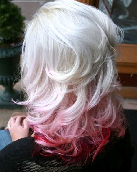 thrilling ideas  red ombre hair