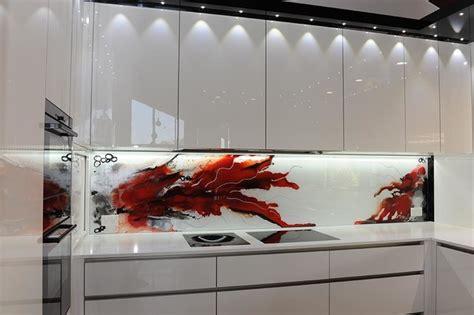 glass painting designs for kitchen painted glass kitchen splashbacks 6842