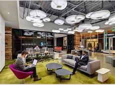 Como é o design dos escritórios do Google e do Facebook no