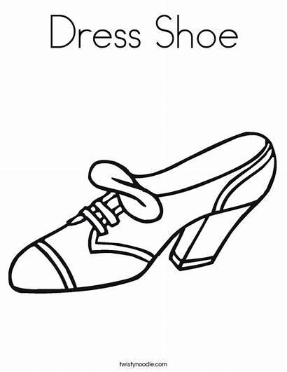 Coloring Shoe Shoes Pages Heel Jordan Tennis