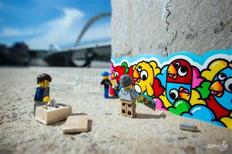 photographer creates clever miniature lego scenes  pics
