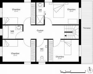 Plan Maison A Etage : plan maison tage 150 m ooreka ~ Melissatoandfro.com Idées de Décoration