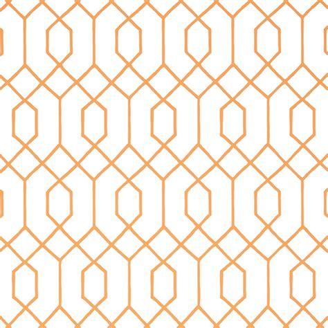 Tapisserie Or by Papier Peint La Farge Orange Blanc Dessins De Vitraux