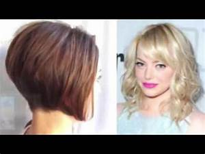 Coiffure Carre Plongeant : coiffure carr court plongeant nuque d gagee youtube ~ Nature-et-papiers.com Idées de Décoration