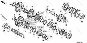 Honda Atv 2009 Oem Parts Diagram For Transmission