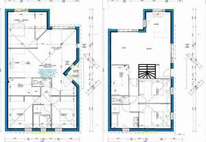 plan maison 6 metre de large With marvelous des plans pour maison 9 plan et photo de maison avec etage ossature bois par