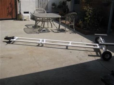 Pvc Boat Trailer by Project Ideas For Pvc Pipe
