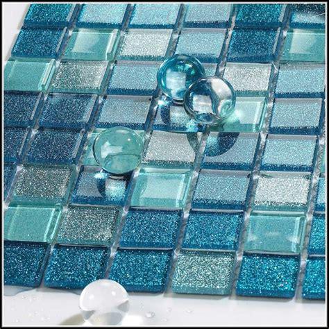 Sea Glass Mosaic Tile Sheets  Home Design Ideas