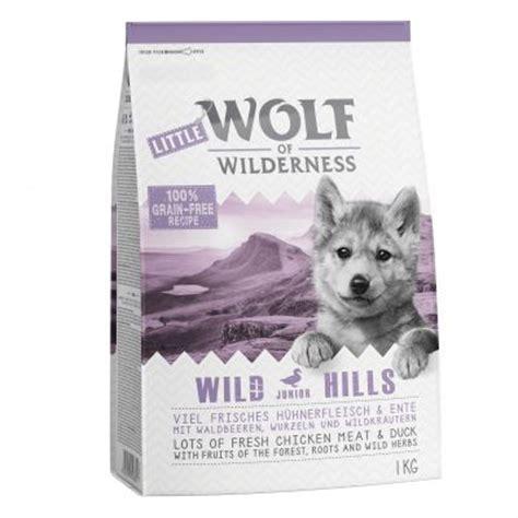wolf  wilderness hundefutter mit frischfleisch