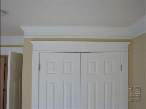crown moulding put extra trim spaced   paint