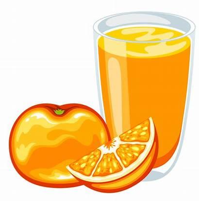 Juice Orange Apple Drink Clipart Cartoon Transparent