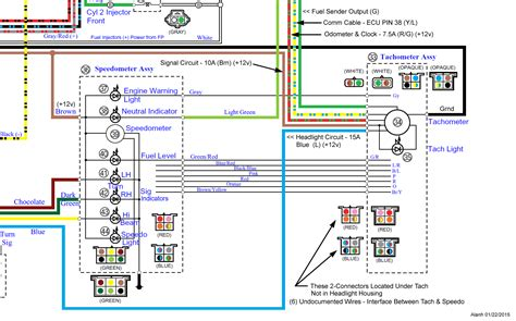 Vstar Wiring Diagram by Tachometer And Speedometer Not Working Road Warrior