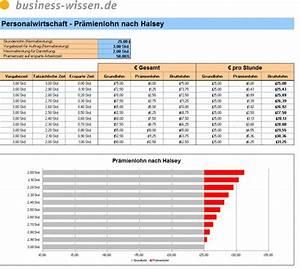 Excel Tabelle Summe Berechnen : pr mienlohn nach halsey berechnen excel tabelle business ~ Themetempest.com Abrechnung
