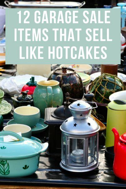 How To Price Clothes For A Garage Sale by 12 Garage Sale Items That Sell Like Hotcakes