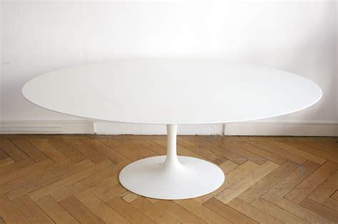Ikea Tisch Tulip by Tulip Tisch Mit Ovaler Marmorplatte Eero Saarinen