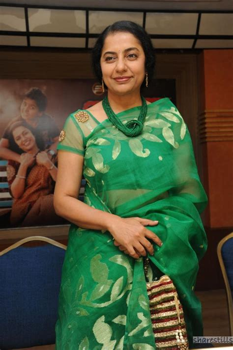 Actress Suhasini Maniratnam Hot Navel Photos And Videos