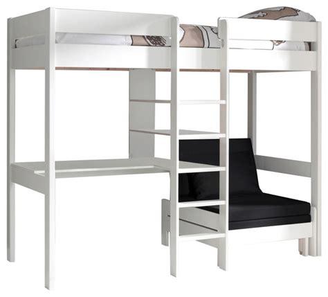 Mid Sleeper With Sofa Bed by High Sleeper With Sofa Bed Scandinavian High Mid