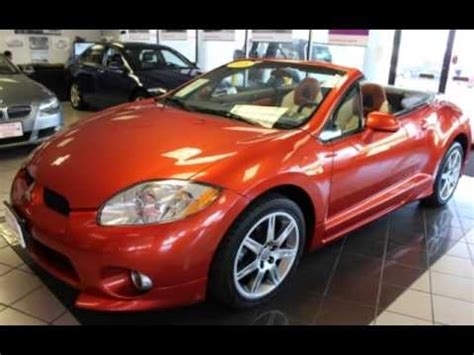 Mitsubishi Eclipse Spyder Gt For Sale by 2008 Mitsubishi Eclipse Spyder Gt V6 Convertible For Sale