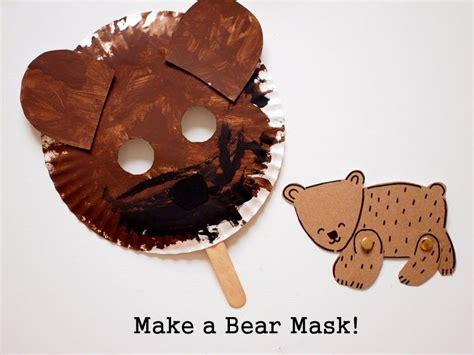 easy bear hunt activities  printables nursery