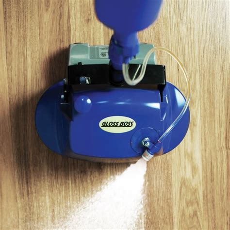 gloss polishing floor scrubber 187 petagadget