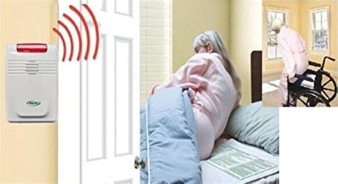 wireless bed exit alarm with bed chair pads complete