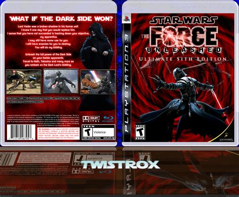 star wars  force unleashed sith edition playstation