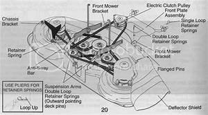 Wiring Diagram  30 Craftsman Gt5000 48 Deck Belt Diagram